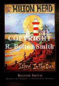 """Hilton Head Island In The Sun"" by Bolton Smith Art Prints"