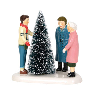Department 56 Accessory  Choosing The Perfect Tree