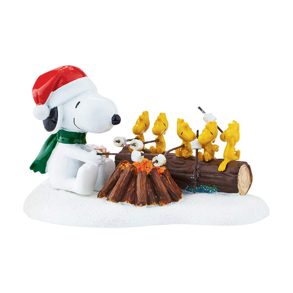 Department 56 Peanuts Village Accessory Campfire Buddies