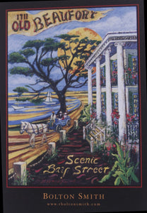 """Beaufort Scenic Bay Street"" by Bolton Smith Art Prints"
