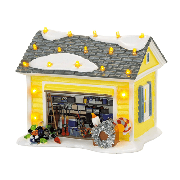 Department 56 National Lampoon's Griswold Holiday Garage
