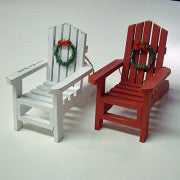 Hilton Head Ornament Adirondack Chair