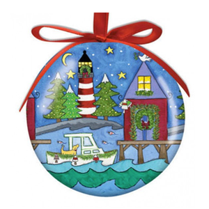 Hilton Head Ornament Lighthouse Christmas