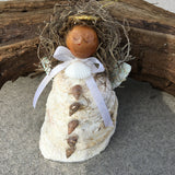 Hand Crafted Oyster Angel Hand-crafted Ornament