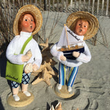 Coastal Beach Girl  and Boy - Byer's Choice