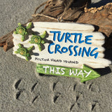 Turtle Crossing Sign Ornament