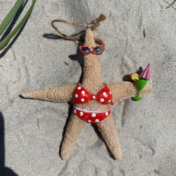 Starfish Lady Ornament