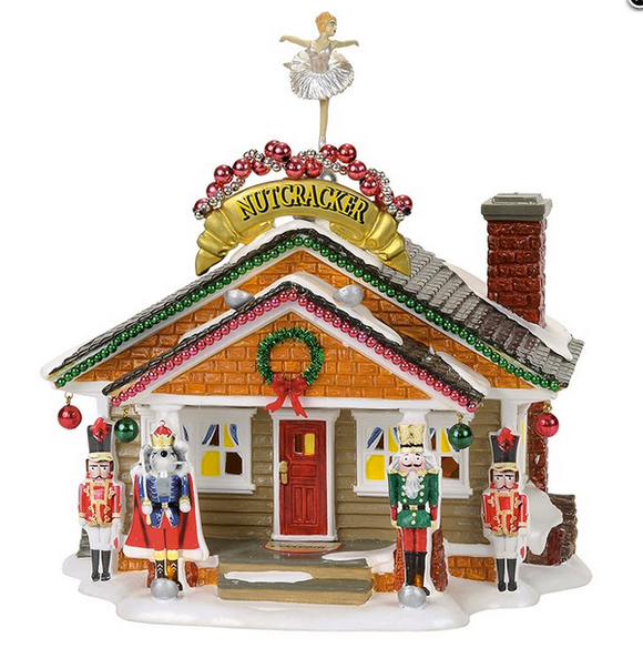 Department 56 Snow Village Christmas Lane Nutcracker House