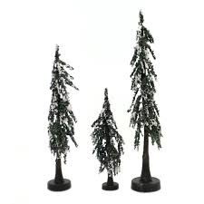 Department 56 Accessory Snowy Lodge Pines