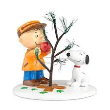 Department 56 Peanuts Village Accessory The Perfect Tree