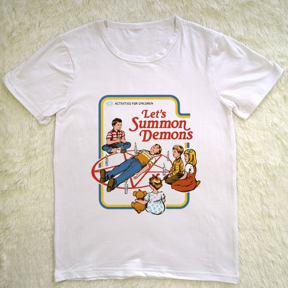 LET'S SUMMON DEMONS SHIRT