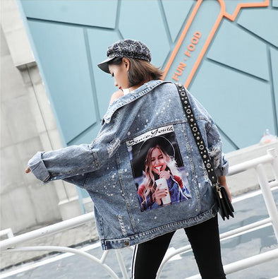 SONIC YOUTH HOODED DENIM JACKET