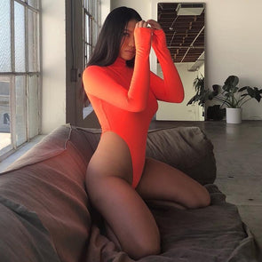 TRANSLUCENT BODYSUIT