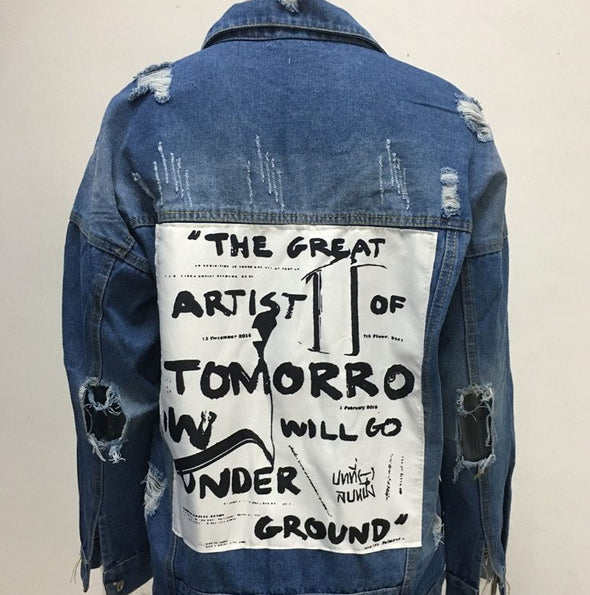 THE GREAT ARTIST OF TOMORROW DENIM JACKET