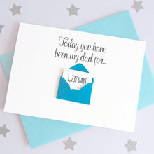 Load image into Gallery viewer, Personalise Dad Days Envelope Card