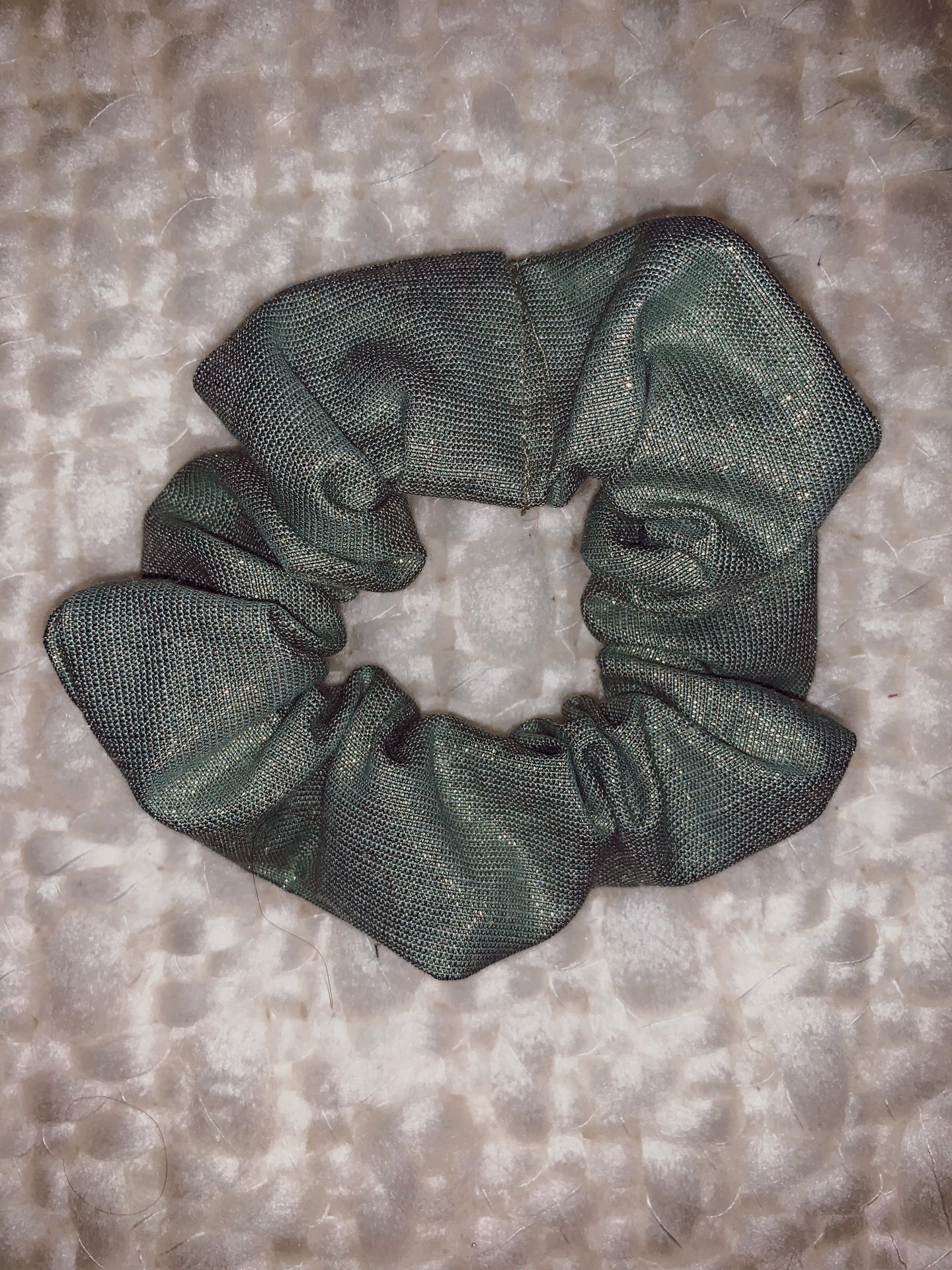 Simple Scrunchie in Spiced Sage