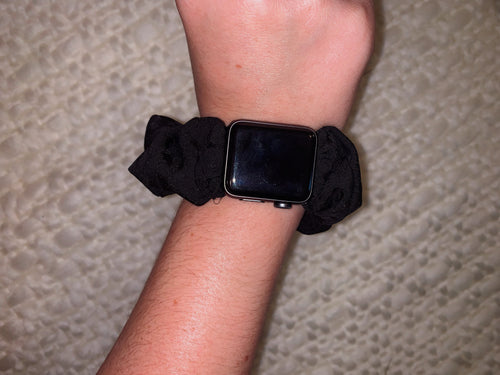 Scrunchie Apple Watch Band in Midnight