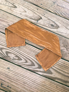 XL Hair Scarf in Cocoa Coconut