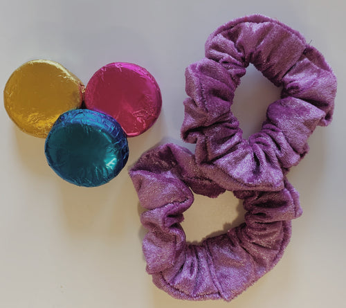 Simple Scrunchie in Flashy