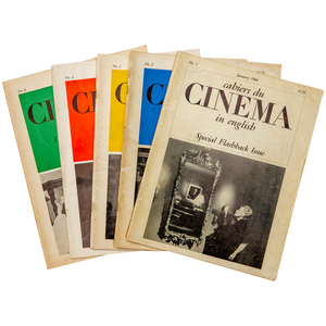 PERIODICAL: CAHIERS DU CINEMA In English (1965-7)