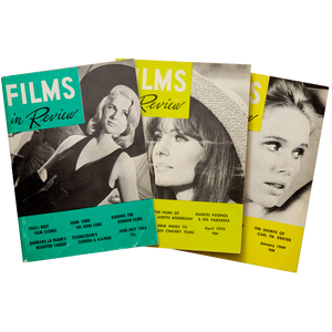PERIODICAL: FILMS IN REVIEW (1964-1970)