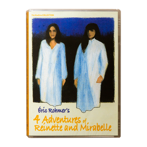 ÉRIC ROHMER'S <br> 4 ADVENTURES OF REINETTE AND MIRABELLE (1987) <br> DVD