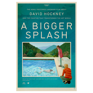 A BIGGER SPLASH <br> Poster <br> Limited Edition