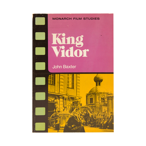 KING VIDOR (1976) <br> by John Baxter