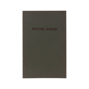 MICHEL AUDER (1991) <br> Selected Video Works 1970-1991 <br> Out of Print