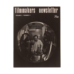 PERIODICAL: FILMMAKERS NEWSLETTER (1969-1977)