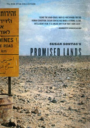PROMISED LANDS <br> by Susan Sontag (1974)