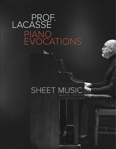 Piano Evocations: Sheet Music (Paper)