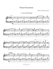 Load image into Gallery viewer, Piano Evocations: Sheet Music (Paper)