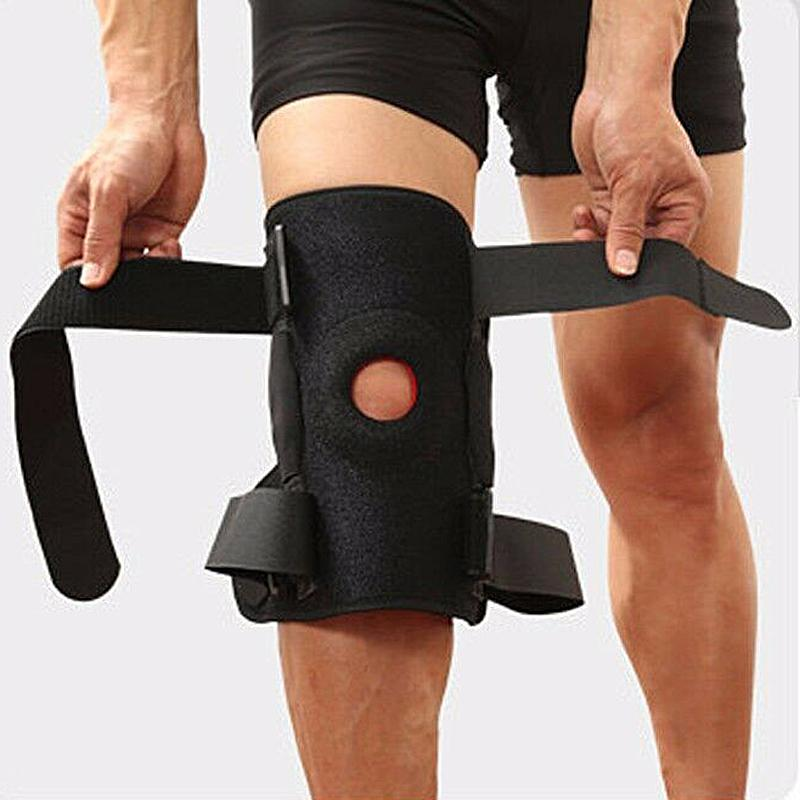 Strong Support Knee Brace Knee Support Gonex Store Black L US Warehouse
