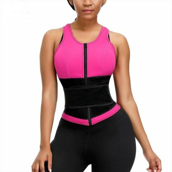 Beautiful Body Waist Trainer Vest Women's Waist Trainer Lover-Beauty Corset store Rose Red S