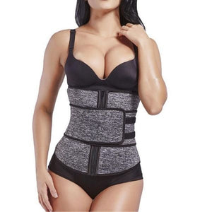 Hourglass Body Waist Trainer Women's Waist Trainer Lover-Beauty Corset store GREY S