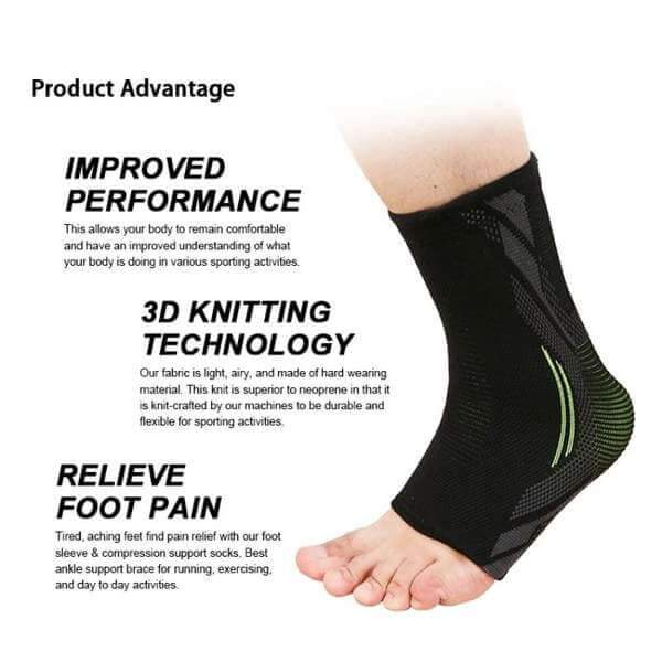 Comfort Compression Ankle Brace - athleticassistgear.com
