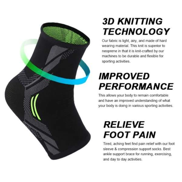 Comfort Compression Ankle Sleeve