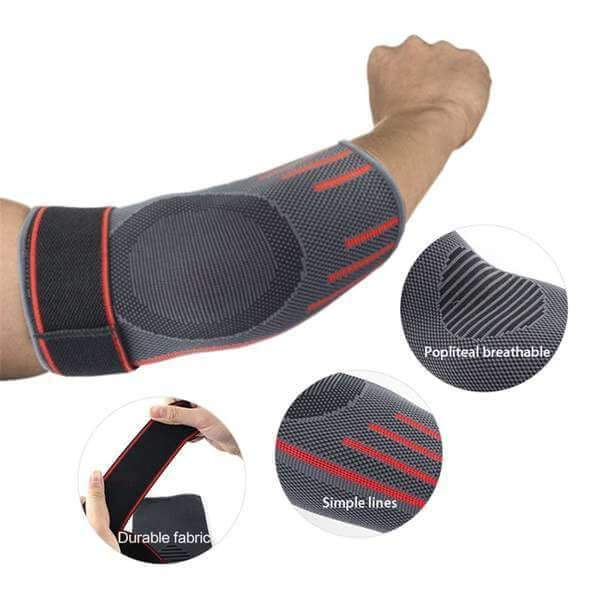 Compression Strap Elbow Sleeve