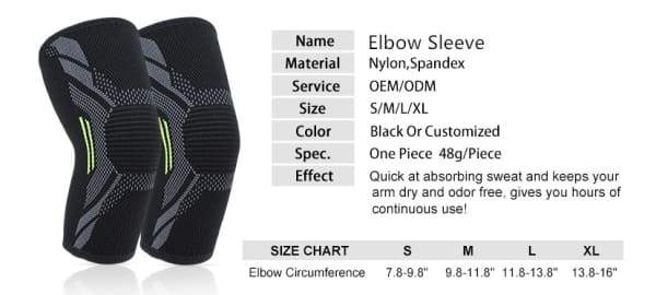 Comfort Compression Elbow Sleeve
