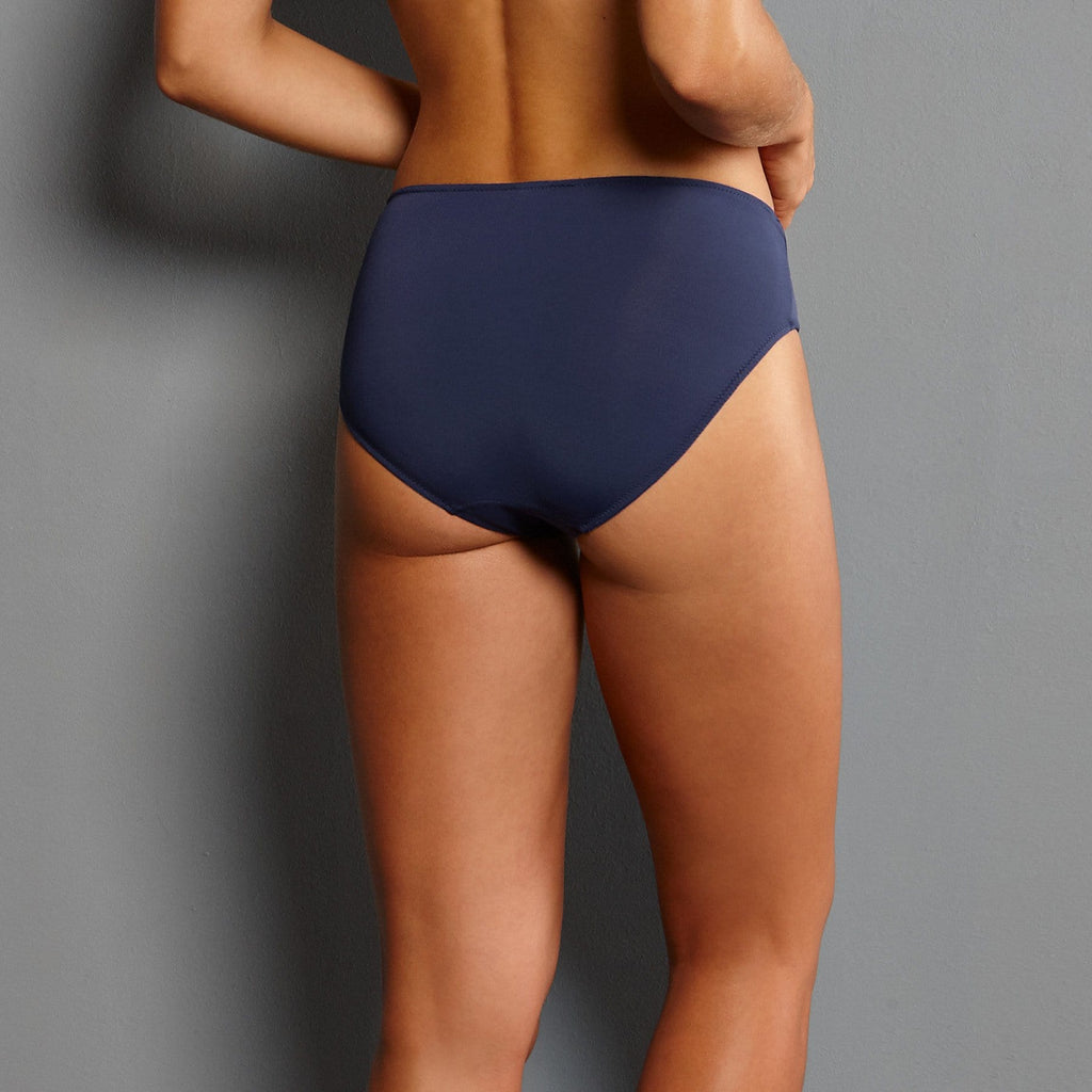 Rosa Faia Twin High Waist Brief (1491) Patriot Blue - La Lingerie