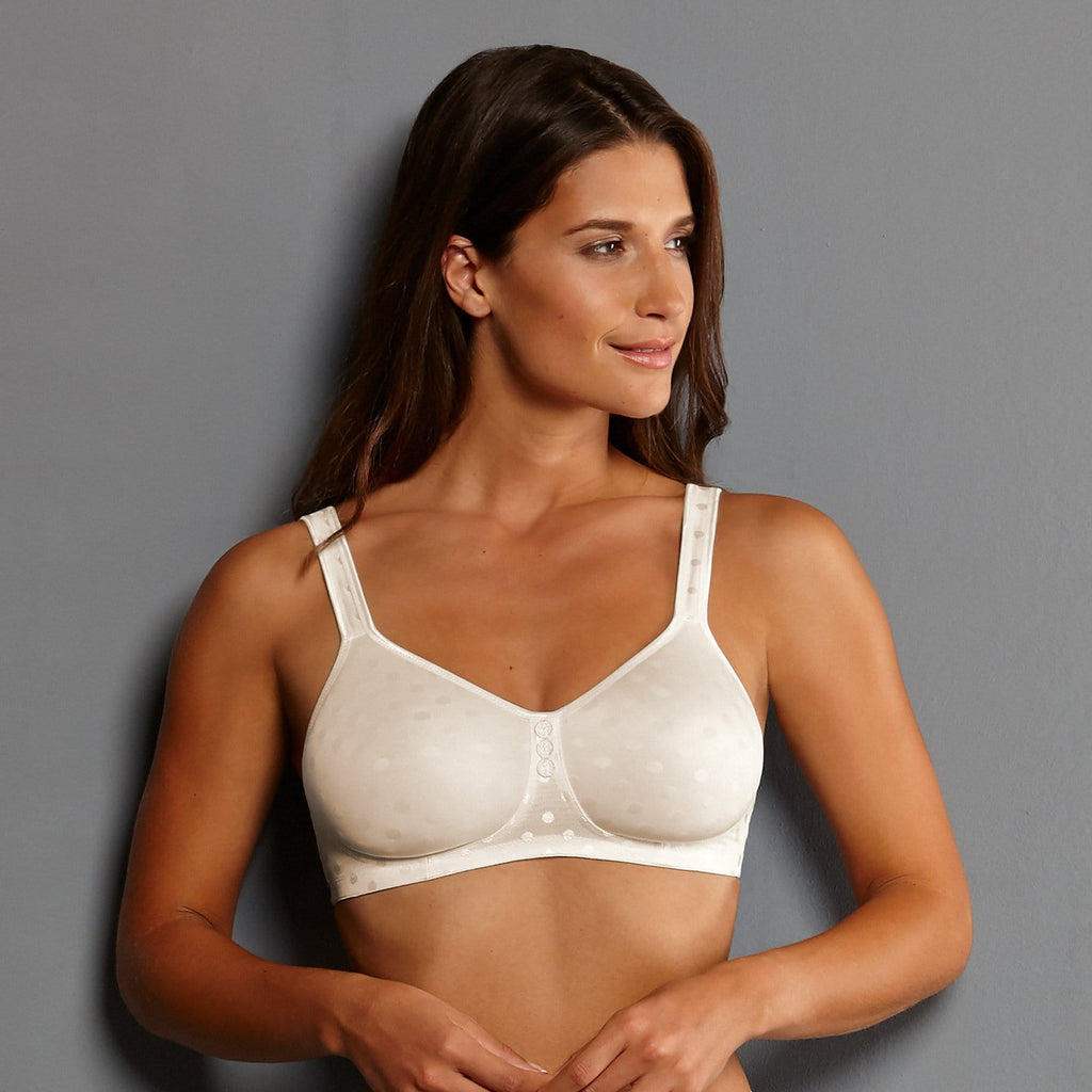 Anita Care Airita Post Mastectomy Bra With Spacer Cups (5752X) Crystal - La Lingerie