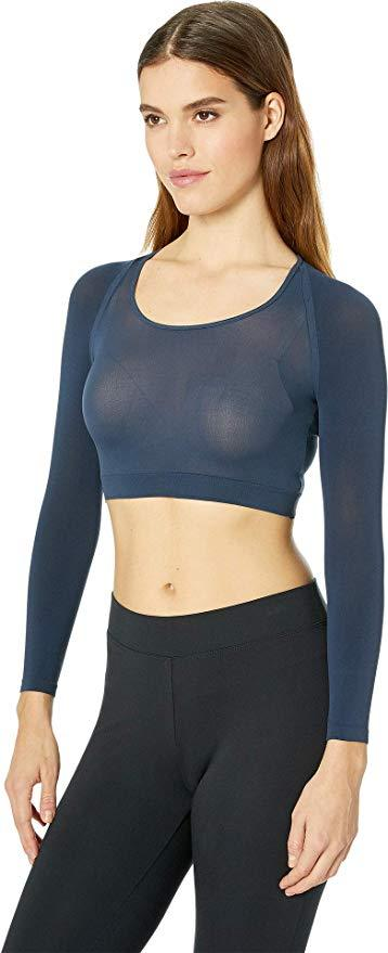 SPANX Arm Tights Long Compression Sleeve Layering Piece (20155R) Port Navy - La Lingerie