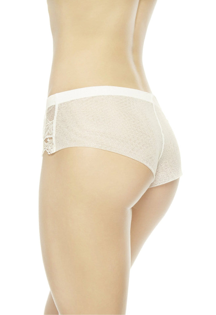 La Perla IDYLLE French Knickers Briefs (0018992) White - La Lingerie