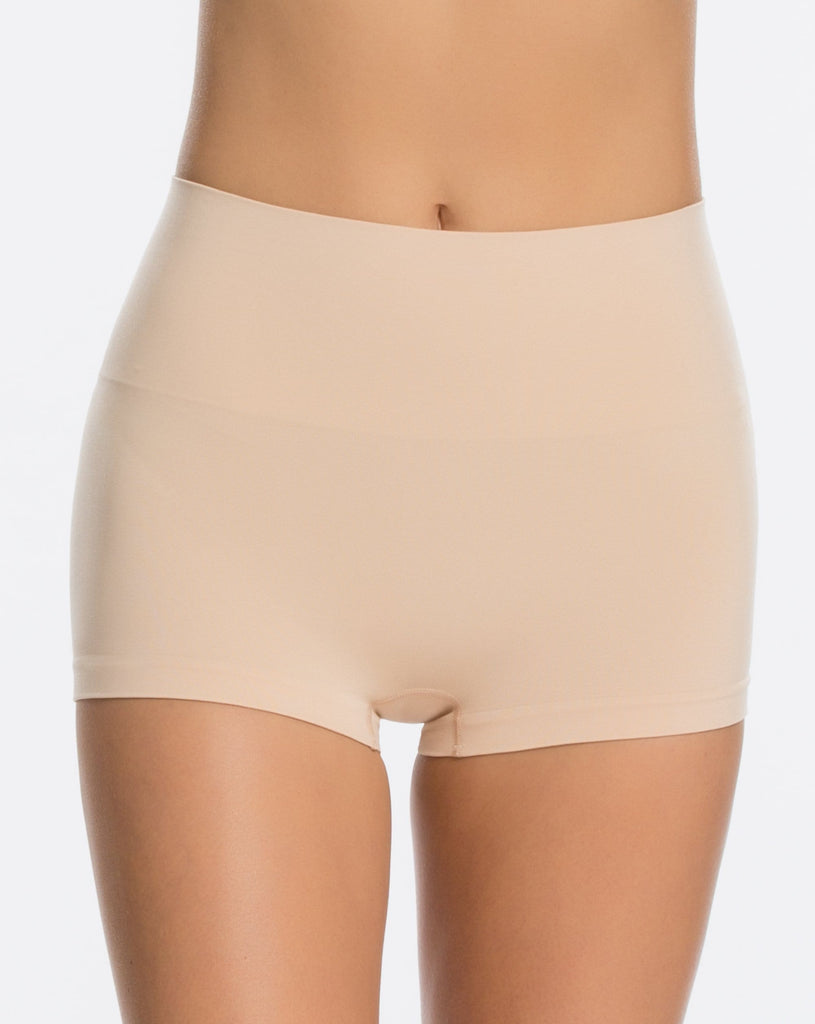 Spanx Everyday Shaping Panties Boyshort (SS0915) Soft Nude - La Lingerie