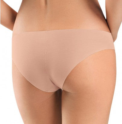 HANRO Invisible Cotton Brazilian Panties (071226) Chestnut - La Lingerie
