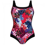 Anita Care Colombo Mastectomy One-Piece Swimsuit (M0-6383) Rspberry - La Lingerie