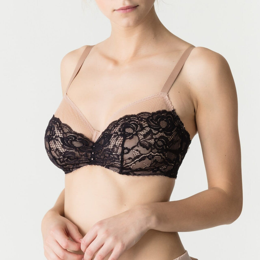 Primadonna By Night Balcony Bra (0162785) Cream - La Lingerie