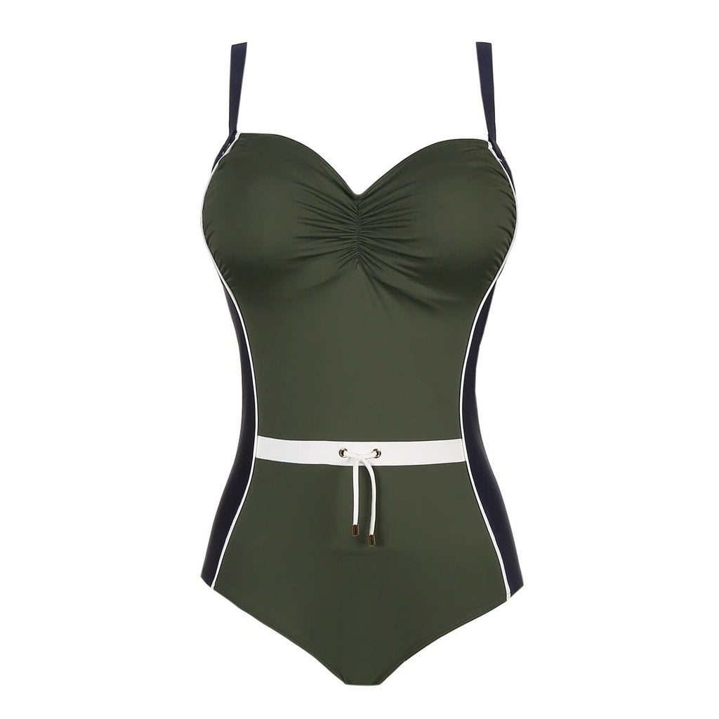 PrimaDonna Swim One-Piece Control Swimsuit (4002030) Olive Green - La Lingerie