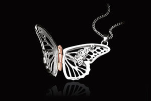 Clogau Butterfly Locket (Large) 3SBWLP